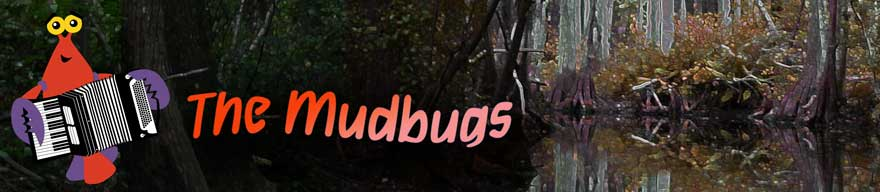 The Mudbugs web banner